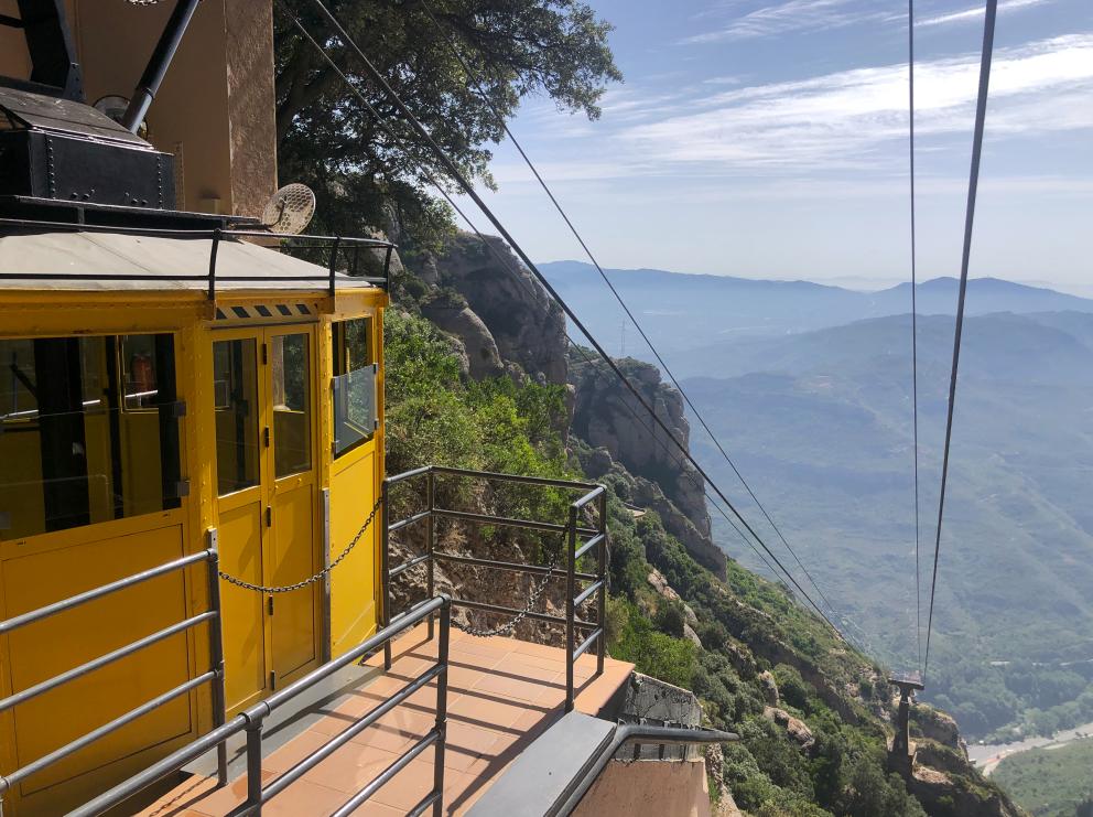 Aeri de Montserrat, un funicular únic al món.